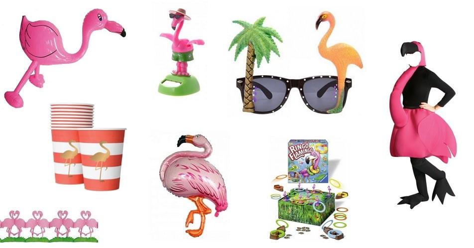 De flamingo spullen voor een zomers feestje zosammieenzo for Decoratie spullen