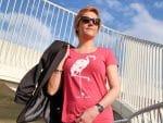 Flamingo T-shirt, helemaal leuk voor de zomer!