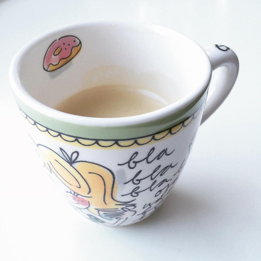 Blond mok koffie
