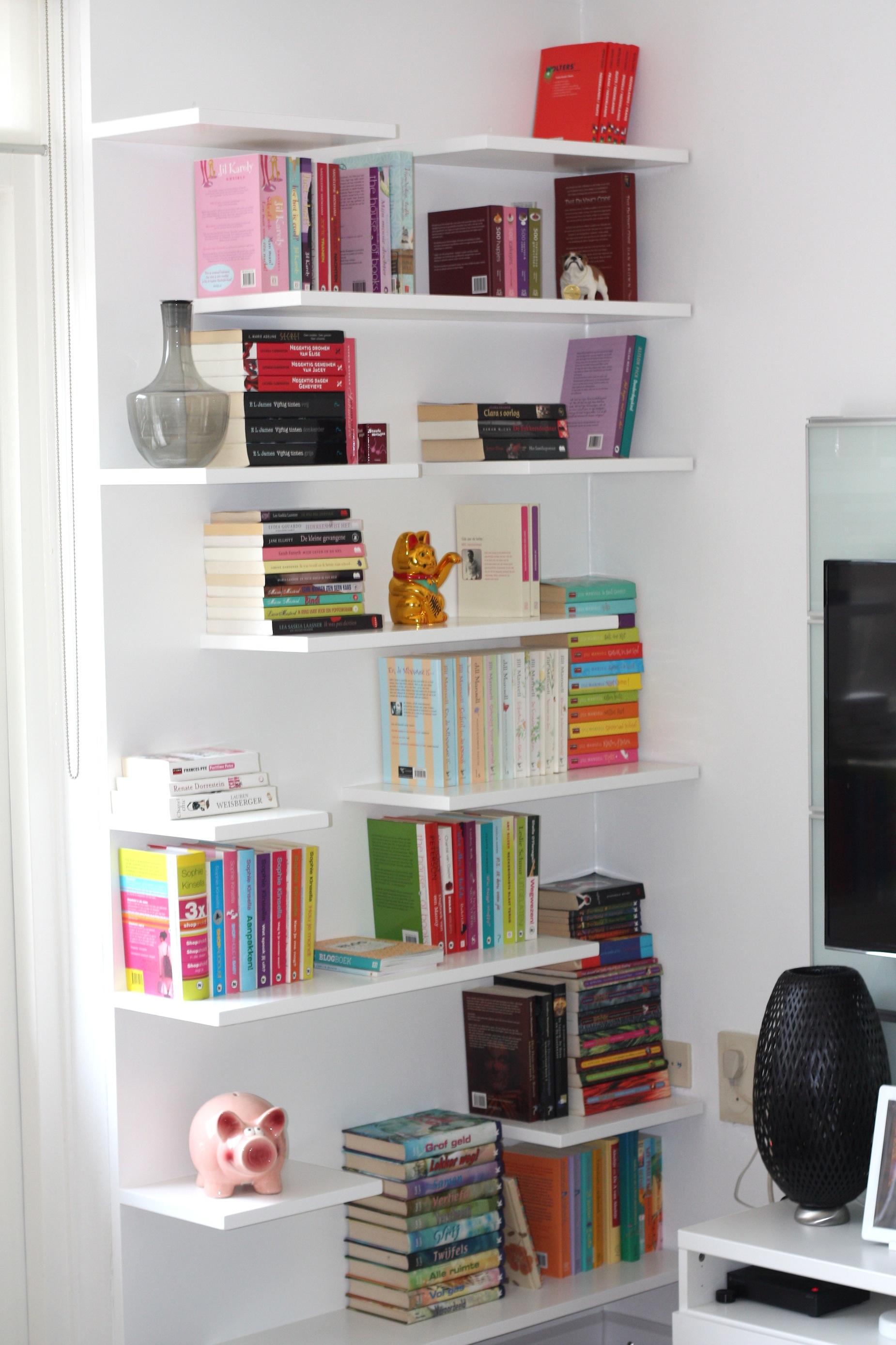 Project boekenkast zosammieenzo for Boekenkast design