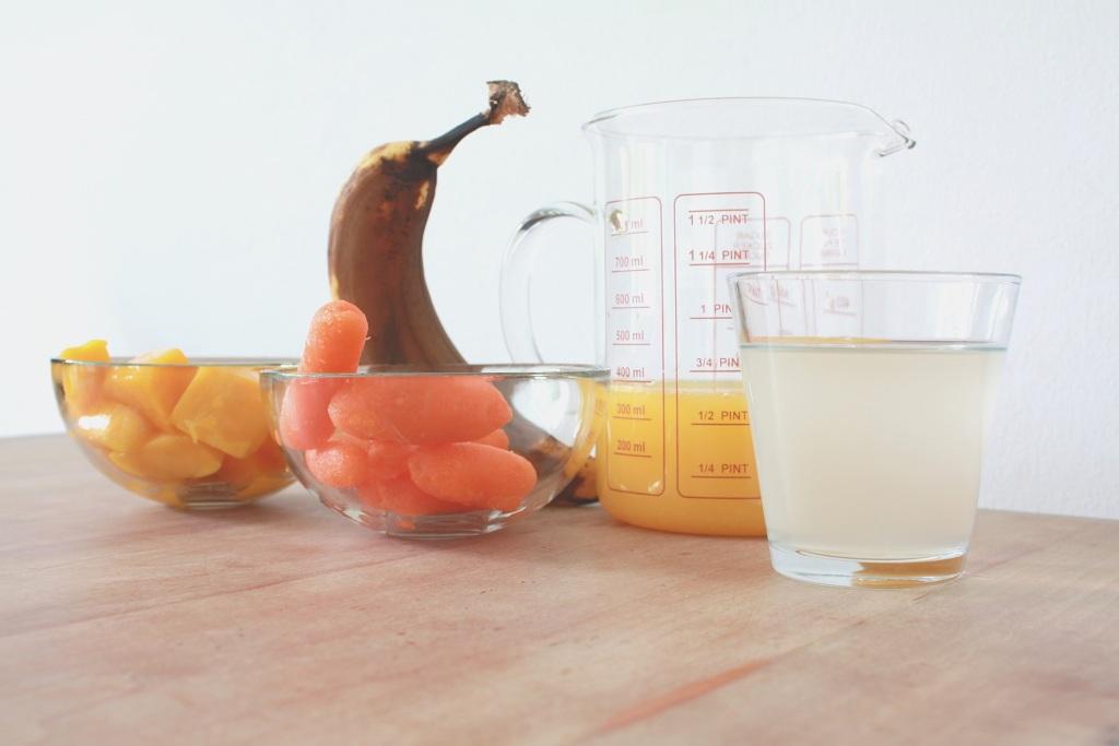 smoothie met wortels
