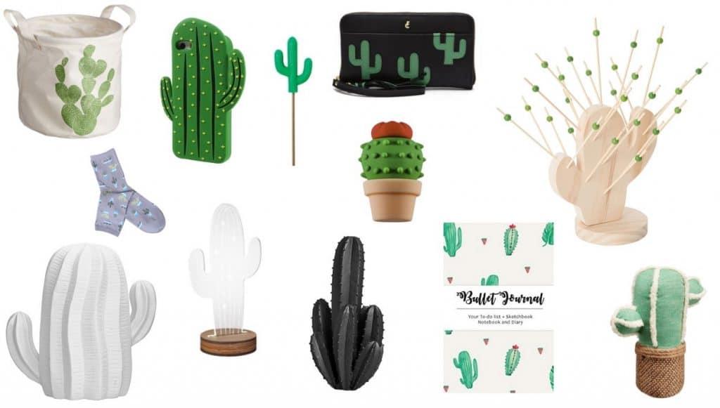 cactus plant porselein