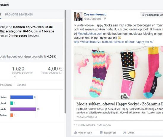 Adverteren op facebook blog