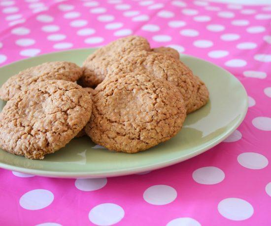 Havermout Rolo koekjes