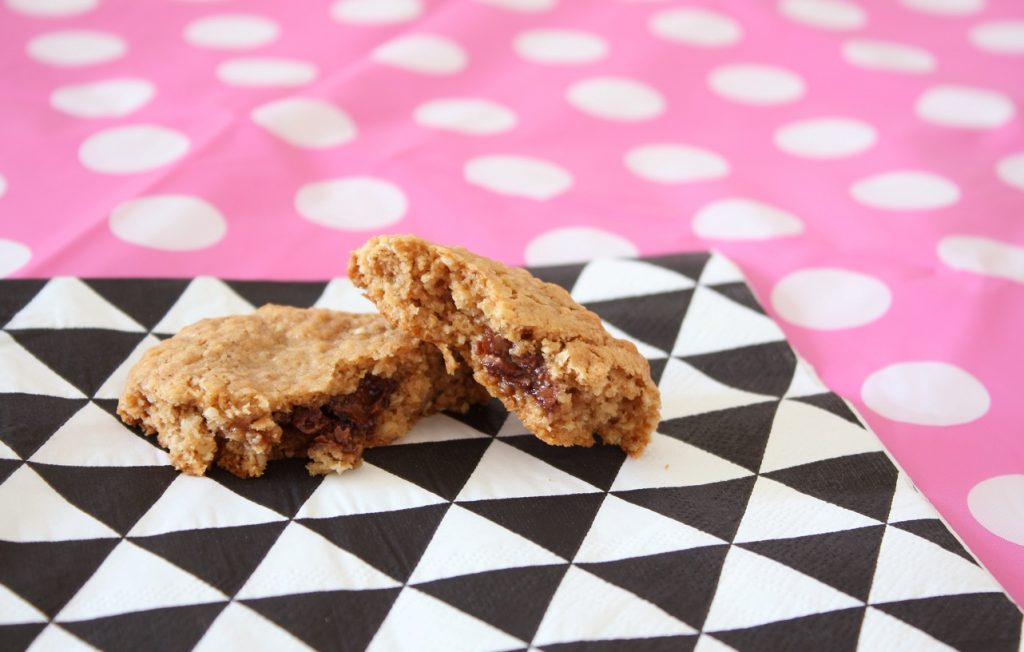 Havermout Rolo koekjes recept