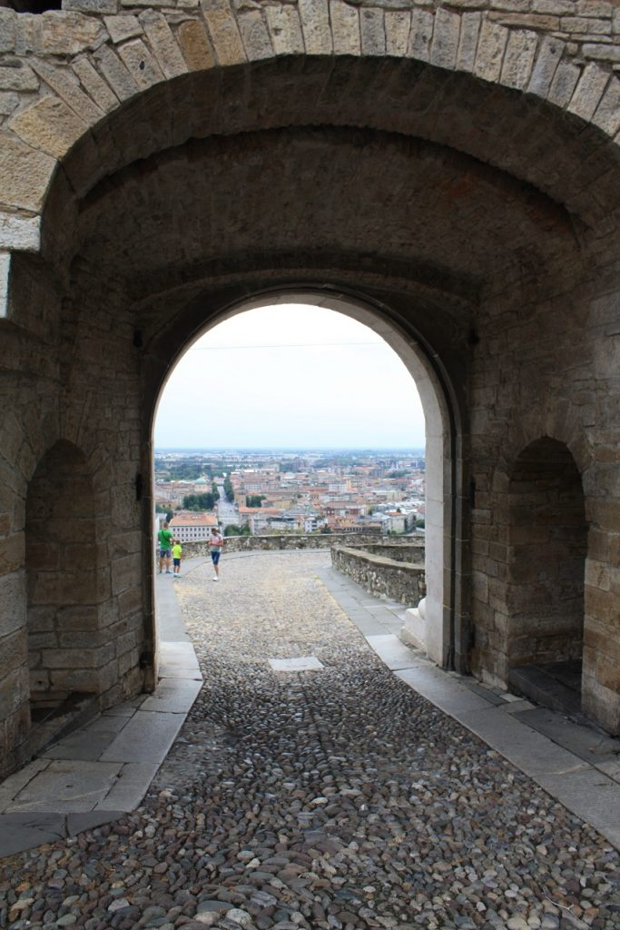uitzicht Bergamo