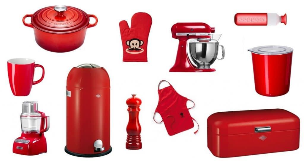 Vandaag is rood woon inspiratie zosammieenzo - Beste kleur voor de keuken ...