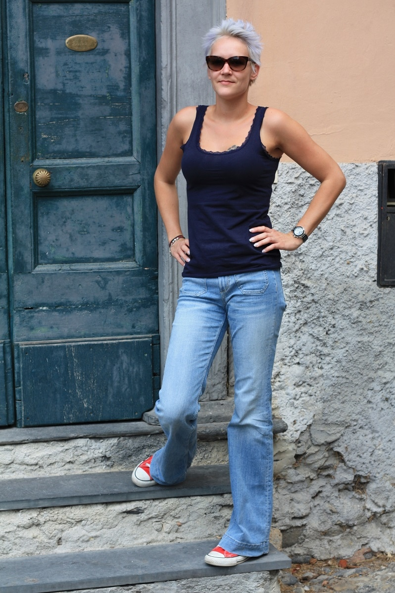 Sammie in Italy