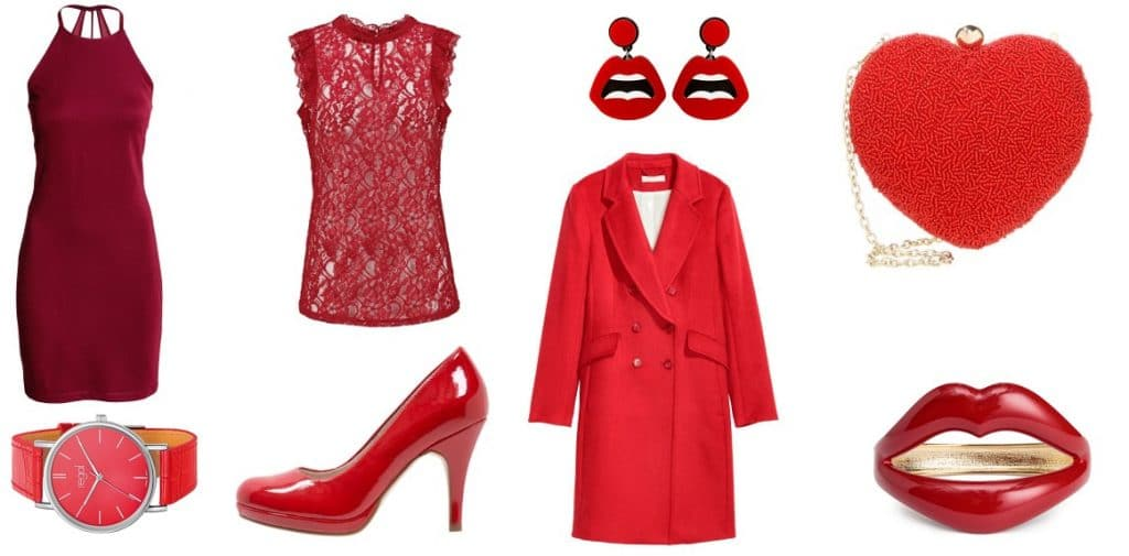 outfit rood