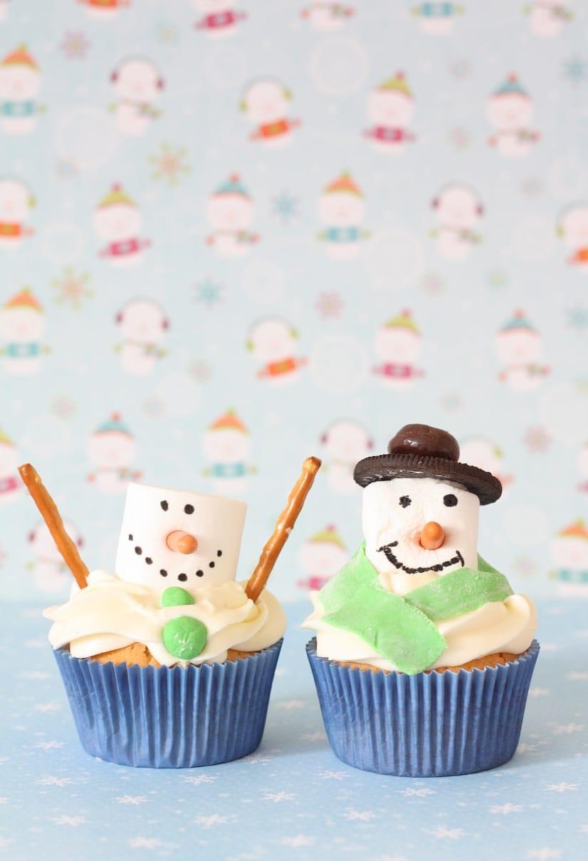 recept sneeuwpop cupcakes