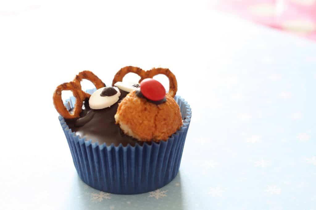 rendieren cupcakes