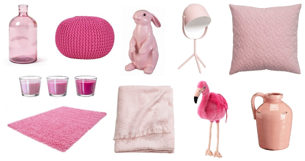 Beautiful roze accessoires woonkamer gallery trend ideas for Oud roze accessoires huis