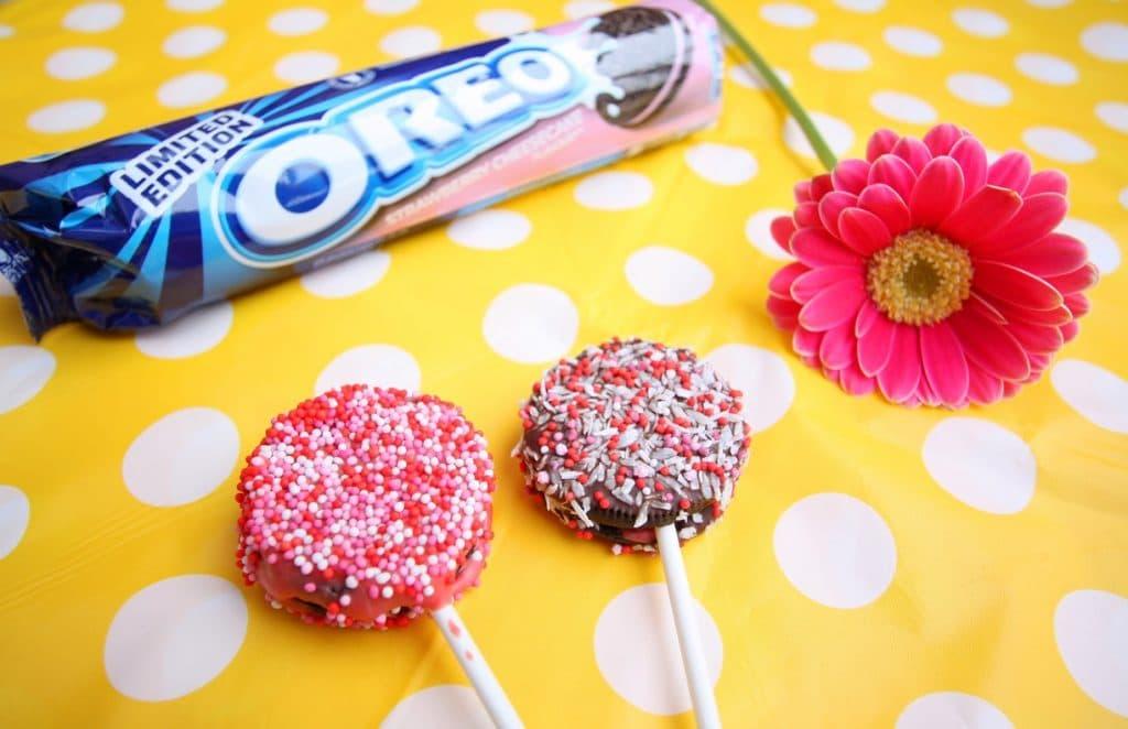 Valentijn Oreo lollies