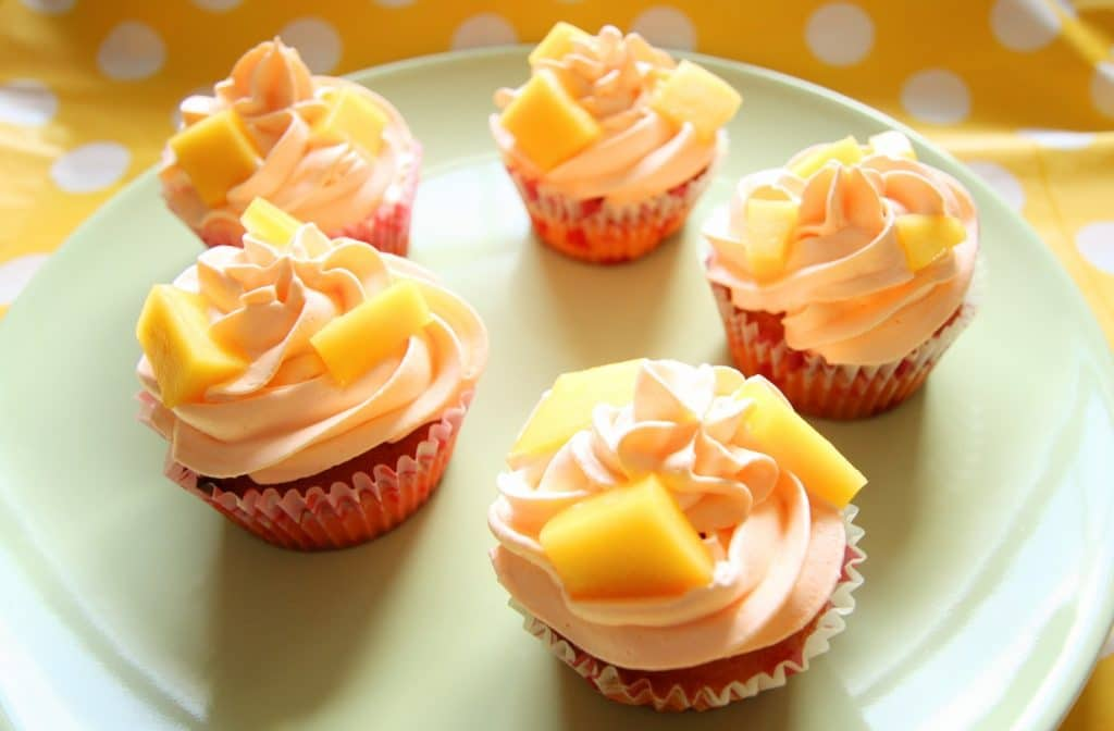 cupcakes mango