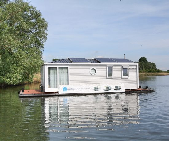 AquaHome in de Biesbosch