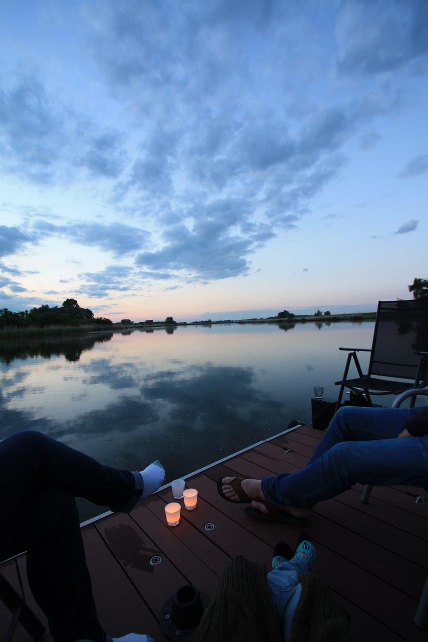 slapen in de Biesbosch