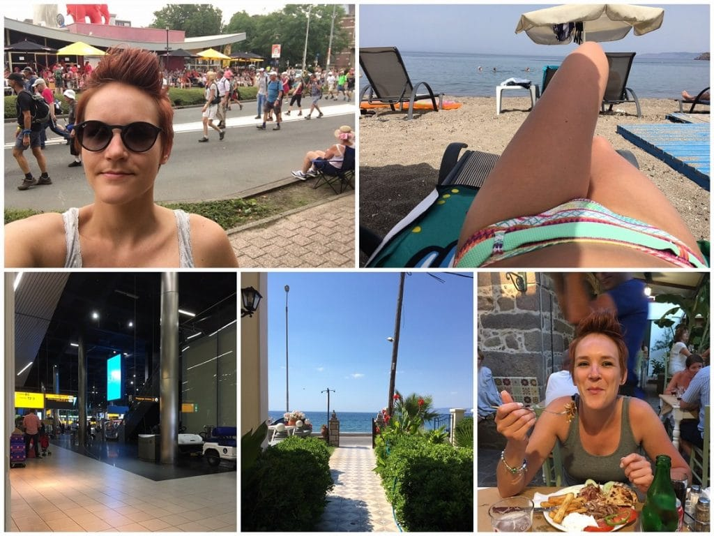 vakantie Lesbos 2017 collage