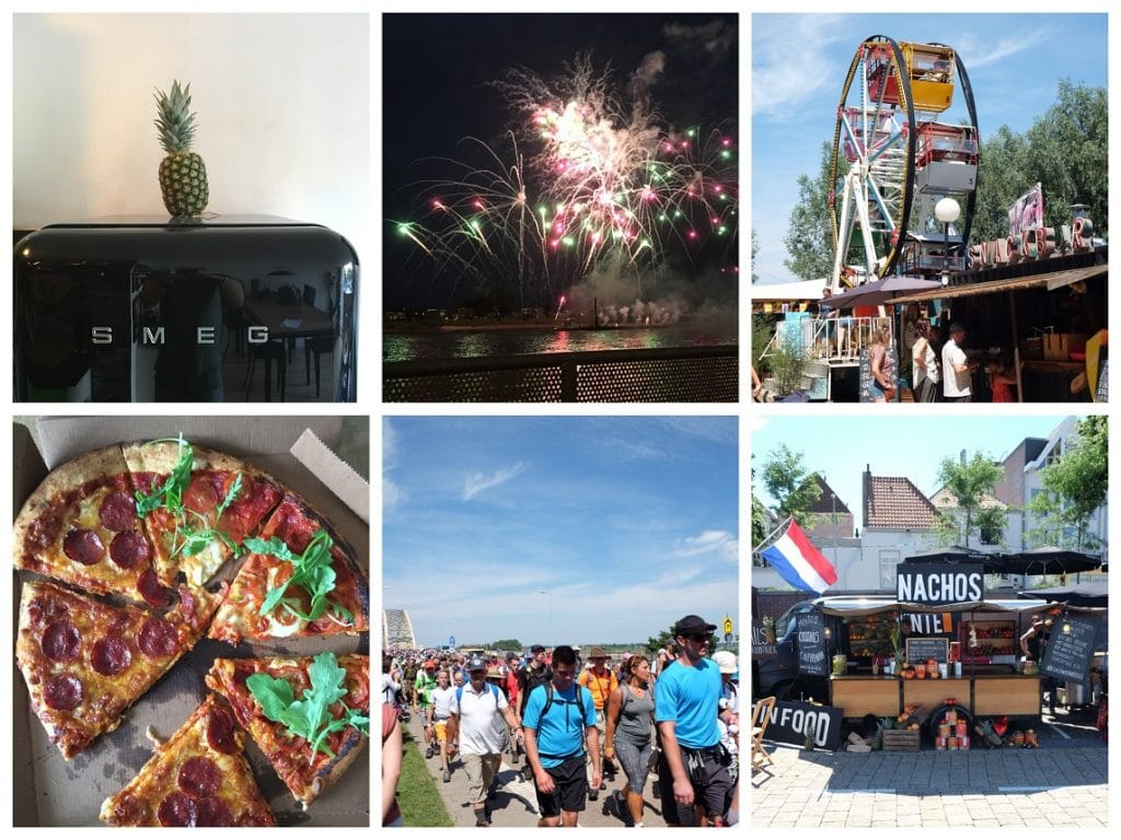 vakantie collage vierdaagse