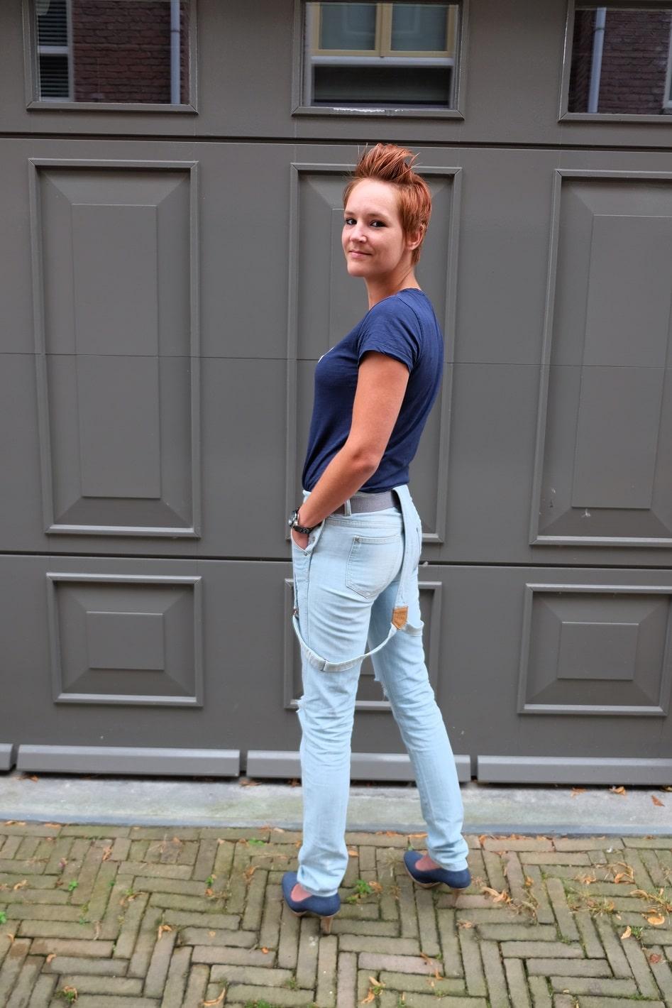 jeans tuinbroek