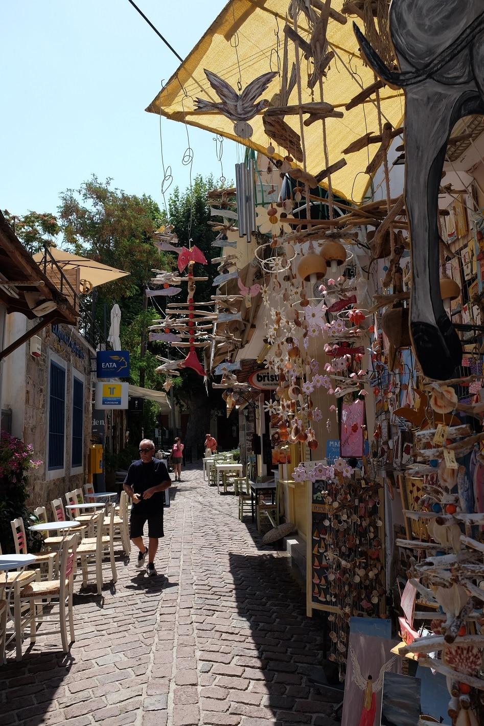 winkelen Petra Lesbos