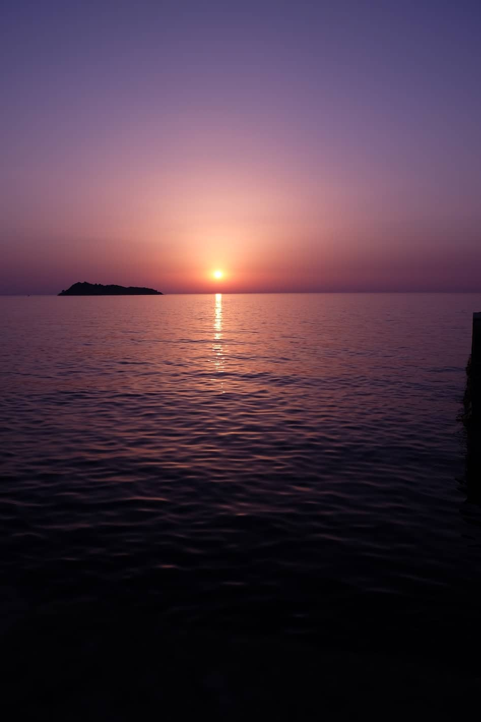 zonsondergang Lesbos