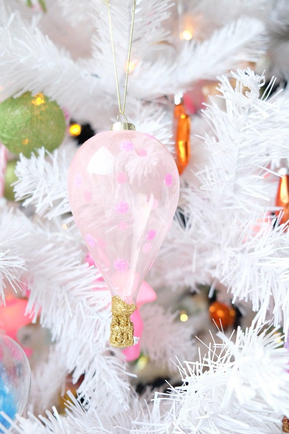 luchtballon kerstboom