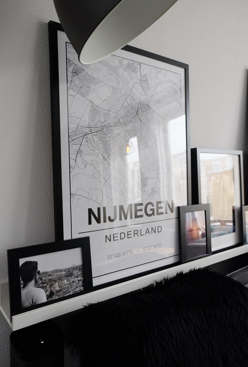 map van Nijmegen