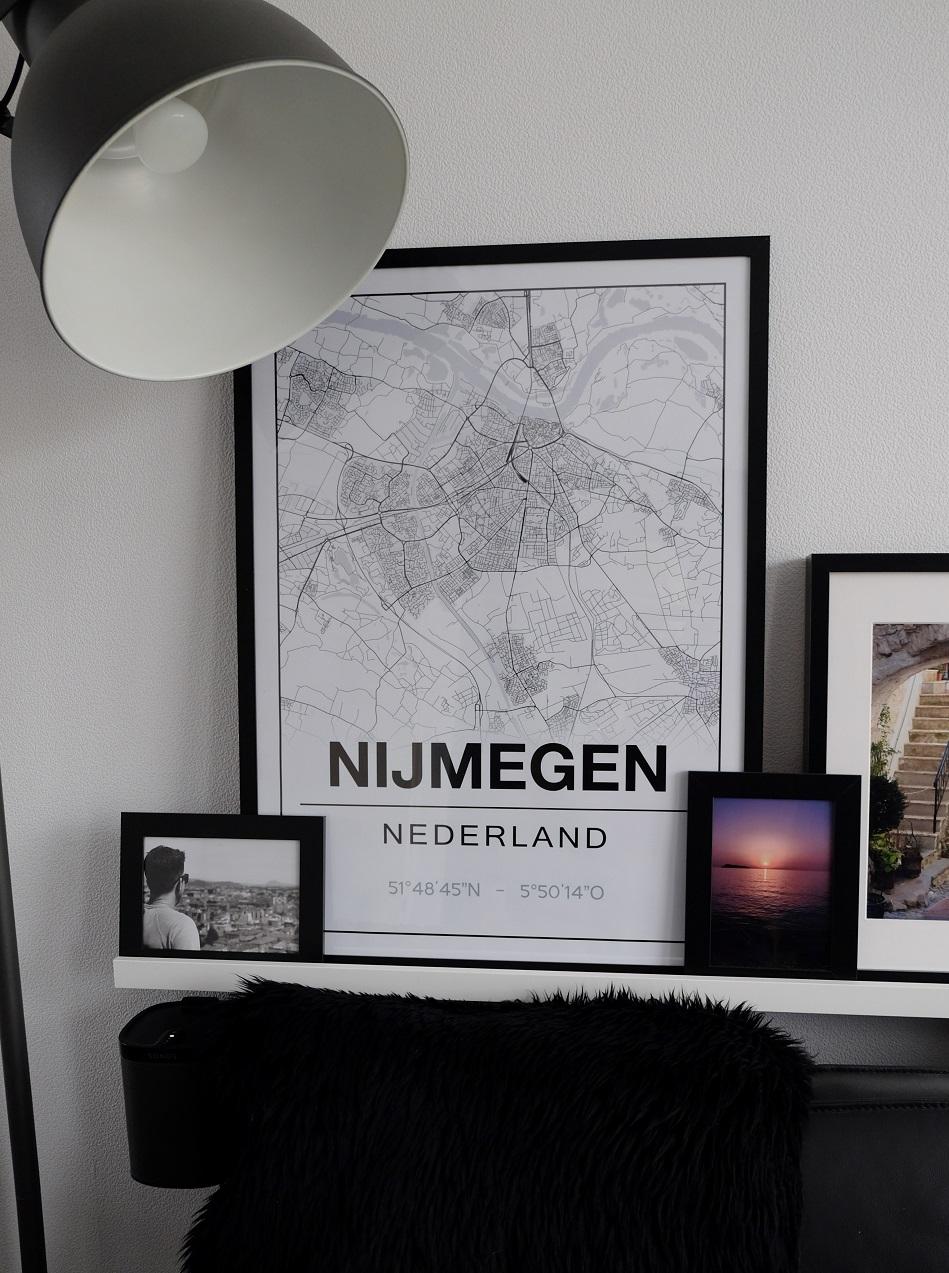 poster van stad