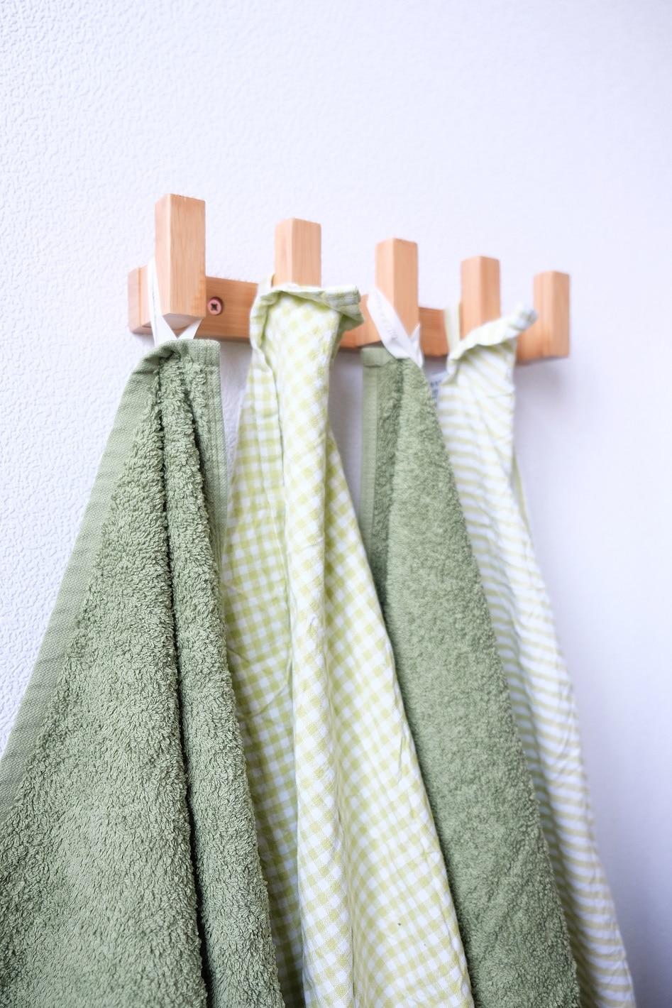 groen keukentextiel