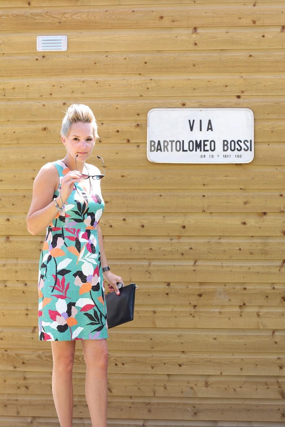 ef2678f8f9627b Kleurrijke feestjurk voor een zomerse bruiloft  outfit  - ZoSammieEnzo
