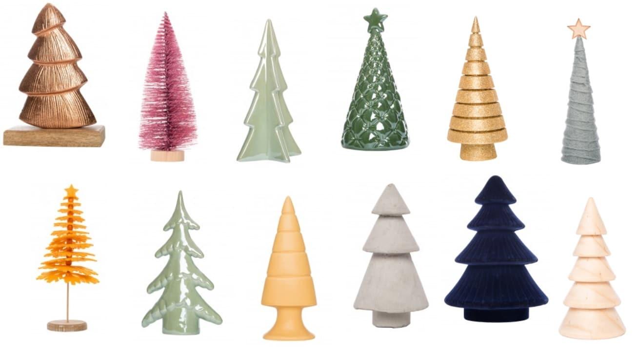 Kerst decoratiebomen
