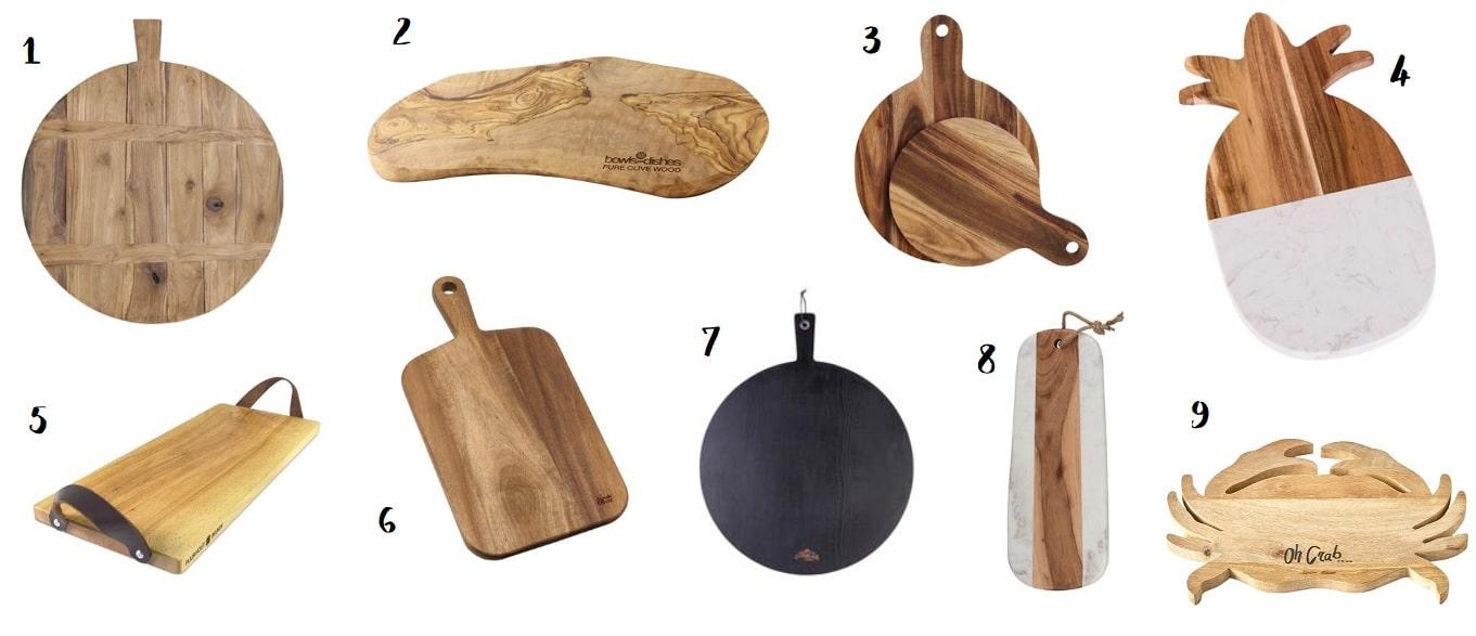 houten serveerplank