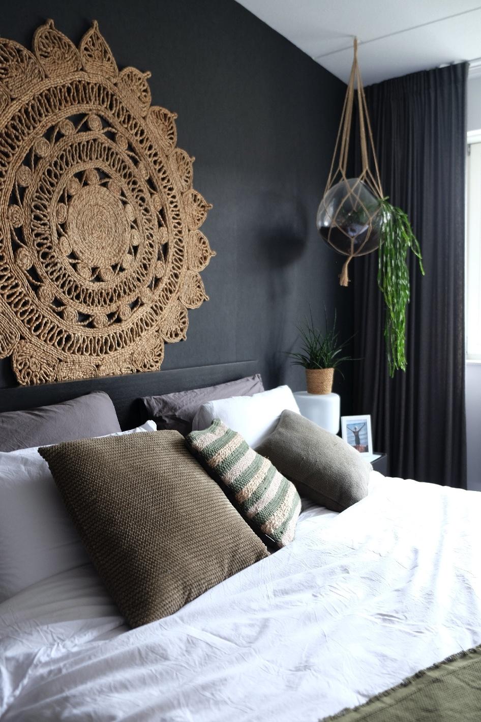 dark bedroom