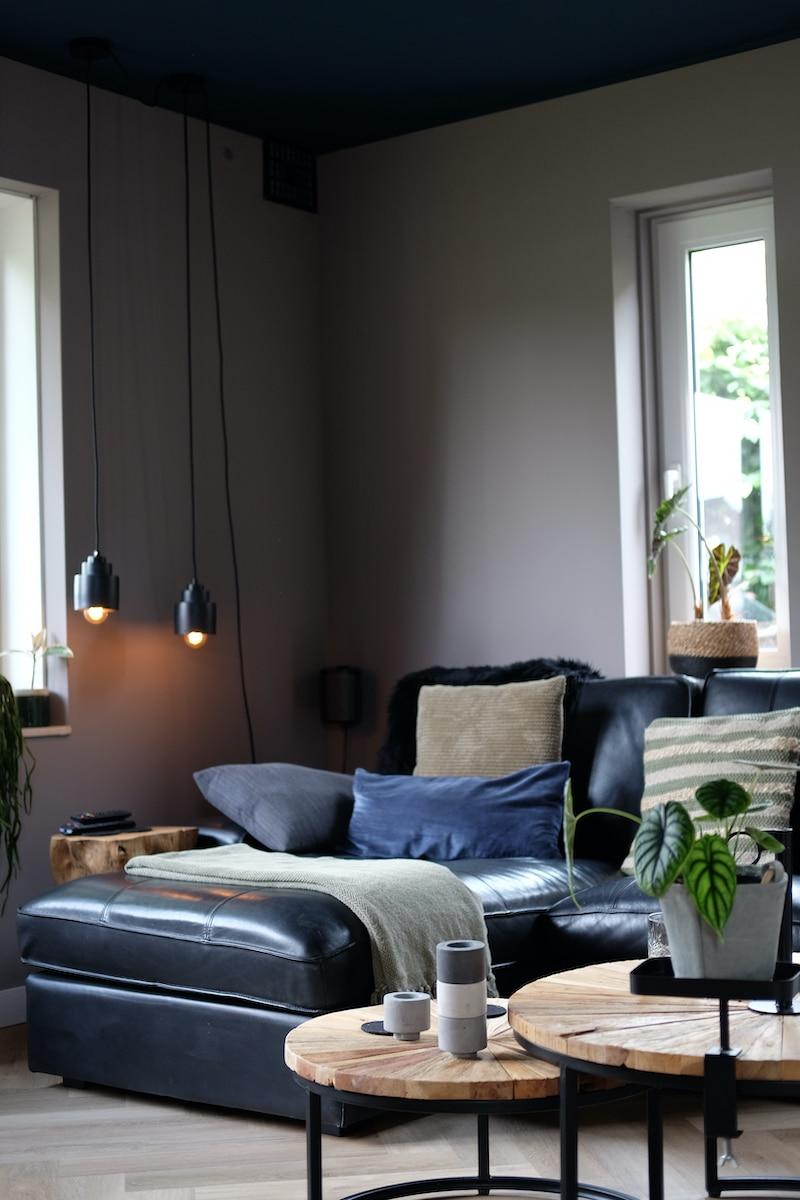 gekleurd plafond